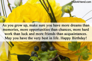 birthday inspirational messages your birthday is gods way of