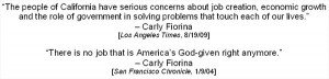 Carly Fiorina: A Record Of Failure