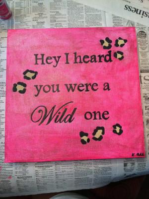 So are you a wild child ? Quiz