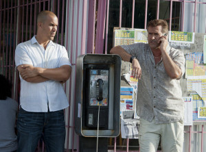 BURN NOTICE — Episode 611 — Pictured: (l-r) Coby Bell as Jesse ...