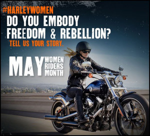 Harley-Davidson Celebrates 'Women Riders Month' with Search for ...