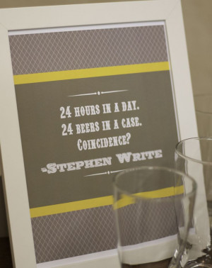 funny quote for beer tasting party