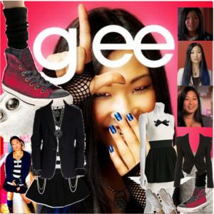 Glee Tina...