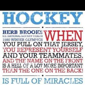 Herb Brooks Hockey QuoteThings Hockey, Hockey Mom, Herbs Brooks ...