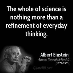 Albert Einstein Quote Life