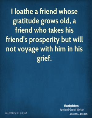 Gratitude Quotes for Friends