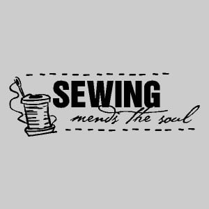 May Your Bobbin Always Be Full Sew Much Fabric Sewing Mends The Soul