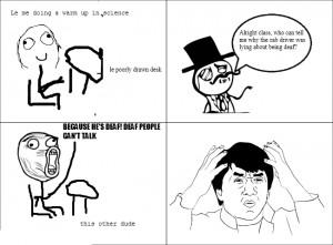Funny Hearing Aid Cartoons