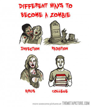 There are different types of zombie apocalypse causes. A few include ...