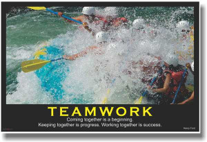 beginning keeping together is progress working together is success