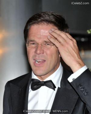 Prime Minister Mark Rutte