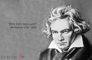 Composers' famous last words