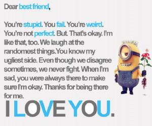 Minions Friendship Quotes....(4 Photos)