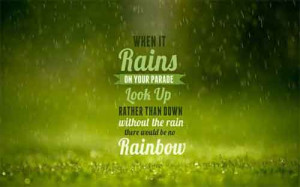 motivational quotes hd wallpaper-rain on your parade