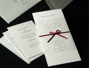 traditional catholic wedding invitation wording 2 300x228 Traditional ...