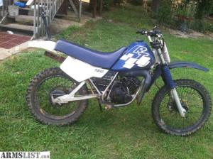 yamaha 2 stroke dirt bikes