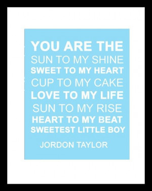 Baby boy quotes, cute, best, sayings, positive