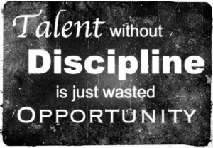 Don't waste any opportunity!