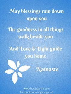 Namaste | www.laurajaworski... More