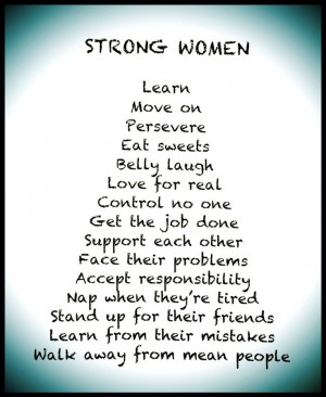 Strong Women. From my mama! The wonderful Lori Riley