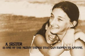 Sister Love Quote Photograph