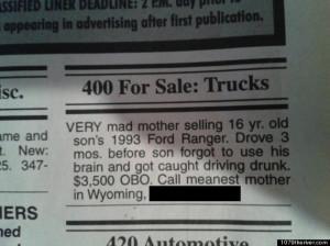 Way to Go Mom