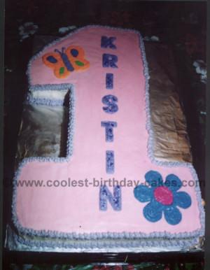Creative 1st Birthday Cakes