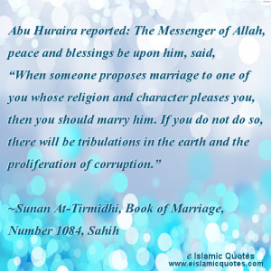 Islamic rules on marriage