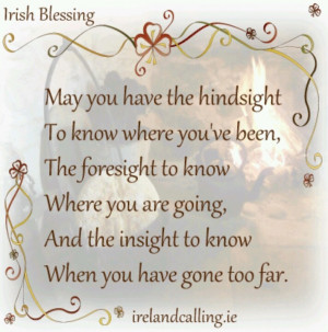 Irish Blessing Sayings