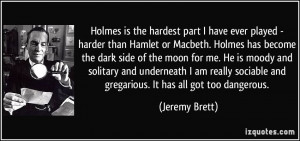 More Jeremy Brett Quotes