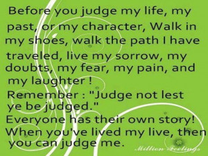 Only GOD can judge!]