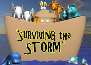 Welcome » surviving the storm – LOGO