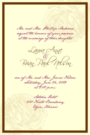 Marriage wedding quotes in spanish quotesgram for Wedding invitation small quotes