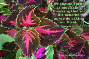 Spiritual Quote – St. Vincent de Paul