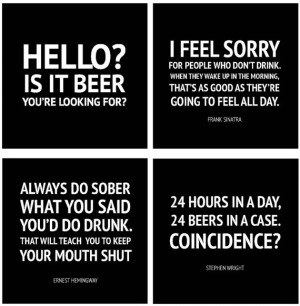 Coasters, funny drinking quotes, bar ware, beer coasters