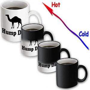 3dRose -- EvaDane - Funny Quotes - Hump Day. Camel. Wednesday. - 11 oz ...