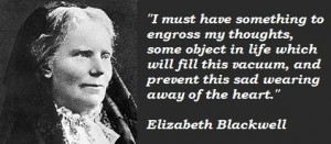 Elizabeth blackwell famous quotes 2