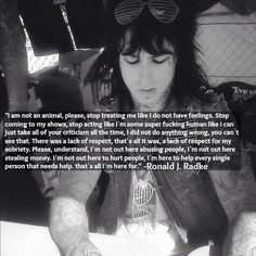 more ronnie radke quotes members quotes ronnie 3 favorite band fuck ...