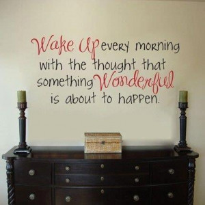 morning, quotes, wake up, wanderful