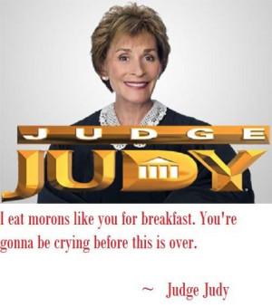 Judge Judy Sayings Quotes