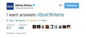 Nancy Grace's Insane, Murder-Fueled Twitter Brilliance