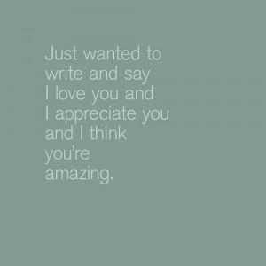 appreciate you.