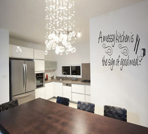 ... -KITCHEN-KITCHEN-DINING-ROOM-QUOTE-FUNNY-WALL-ART-MURAL-STICKER-VINYL