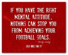 Inspirational Quotes For Football Players ~ Football Quotes on ...