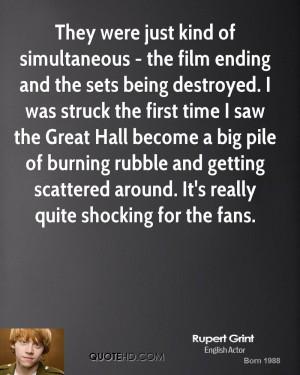 Rupert Grint Quotes