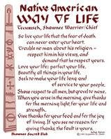 tecumseh spoke these words about living and dying quoted in the movie ...