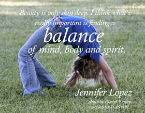 Jennifer Lopez quote, Beauty is only skin deep. I think what's really ...