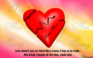 Download broken heart photo for Facebook. Use the broken heart letters ...