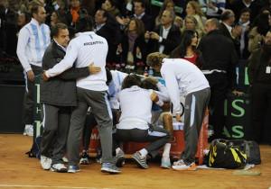 DavisCup DelPotro DAVIS CUP FINAL: RAFAEL NADAL WINS FOR SPAIN, DEL ...