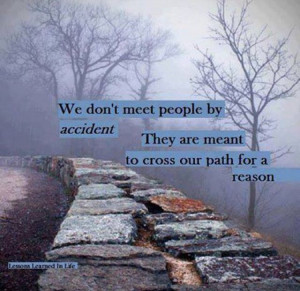 No accidents...